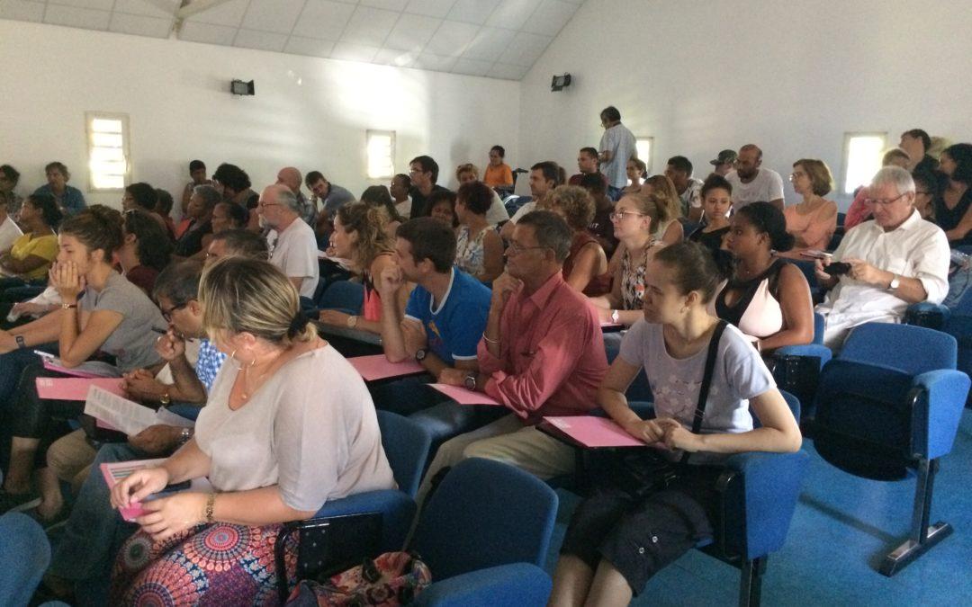 Conférence de territoire Océan Indien à la Maison Pierre Lagourgue