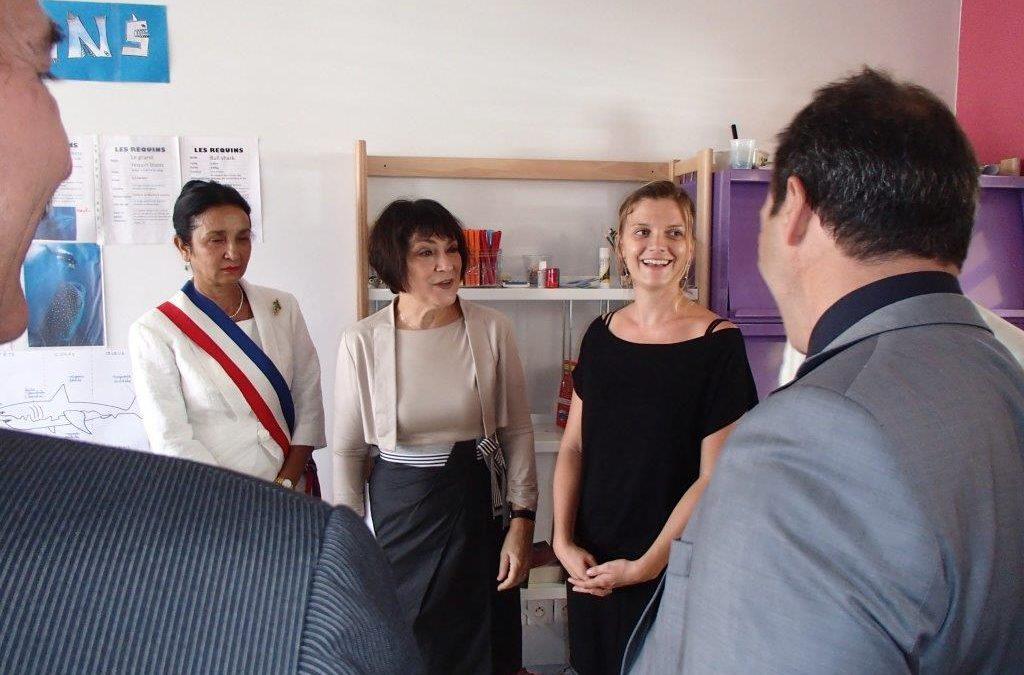 INAUGURATION LE 30/11/2013 EN PRÉSENCE DE LA MINISTRE MARIE-ARLETTE CARLOTTI